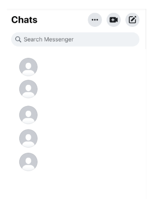 How to chat through Facebook messenger