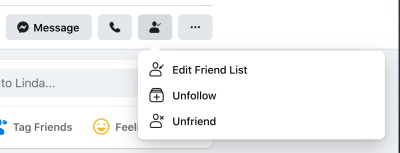 How to follow and unfollow a friend on Facebook