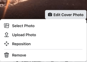 How to choose and change a cover photo for Facebook beginners