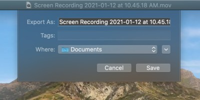 How to download a webinar recording quick time player step one save recording in the export as field