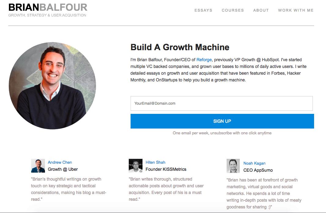 BrianBalfour.com