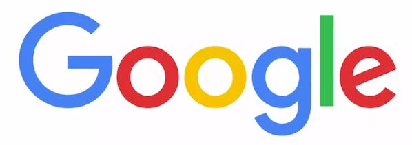 Google's volledige naam desktopversie van het logo