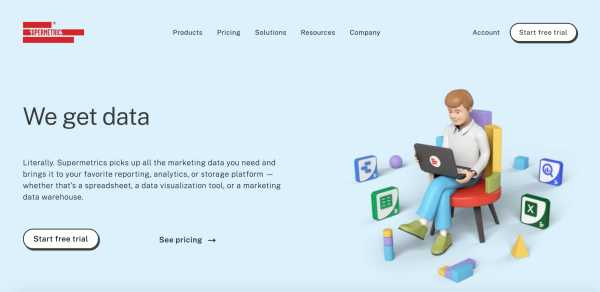 marketing analytics tools supermetrics example