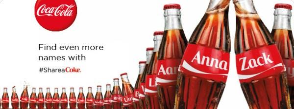 coke share a coke integrated marketing campaign