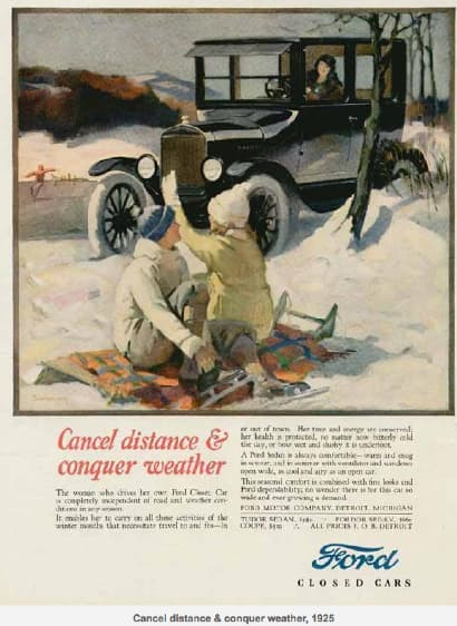advertising history ford