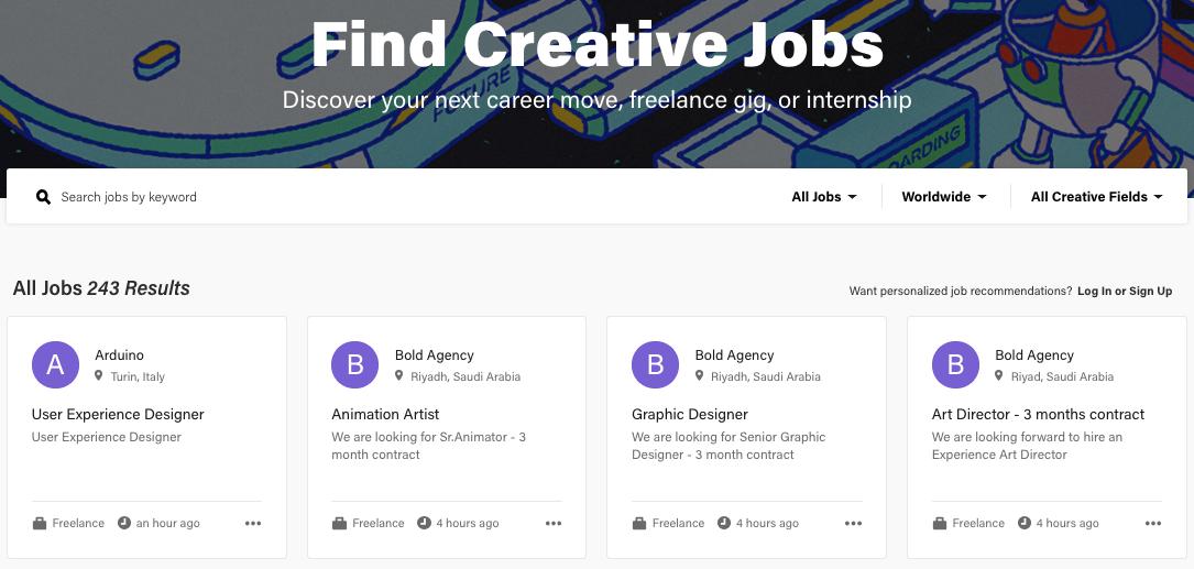 behance-job-site