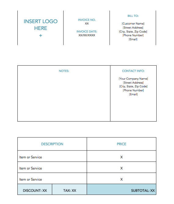 blue-minimal-standard-invoice-template