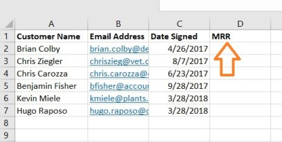 Using VLOOKUP: Adding a New Column in Excel