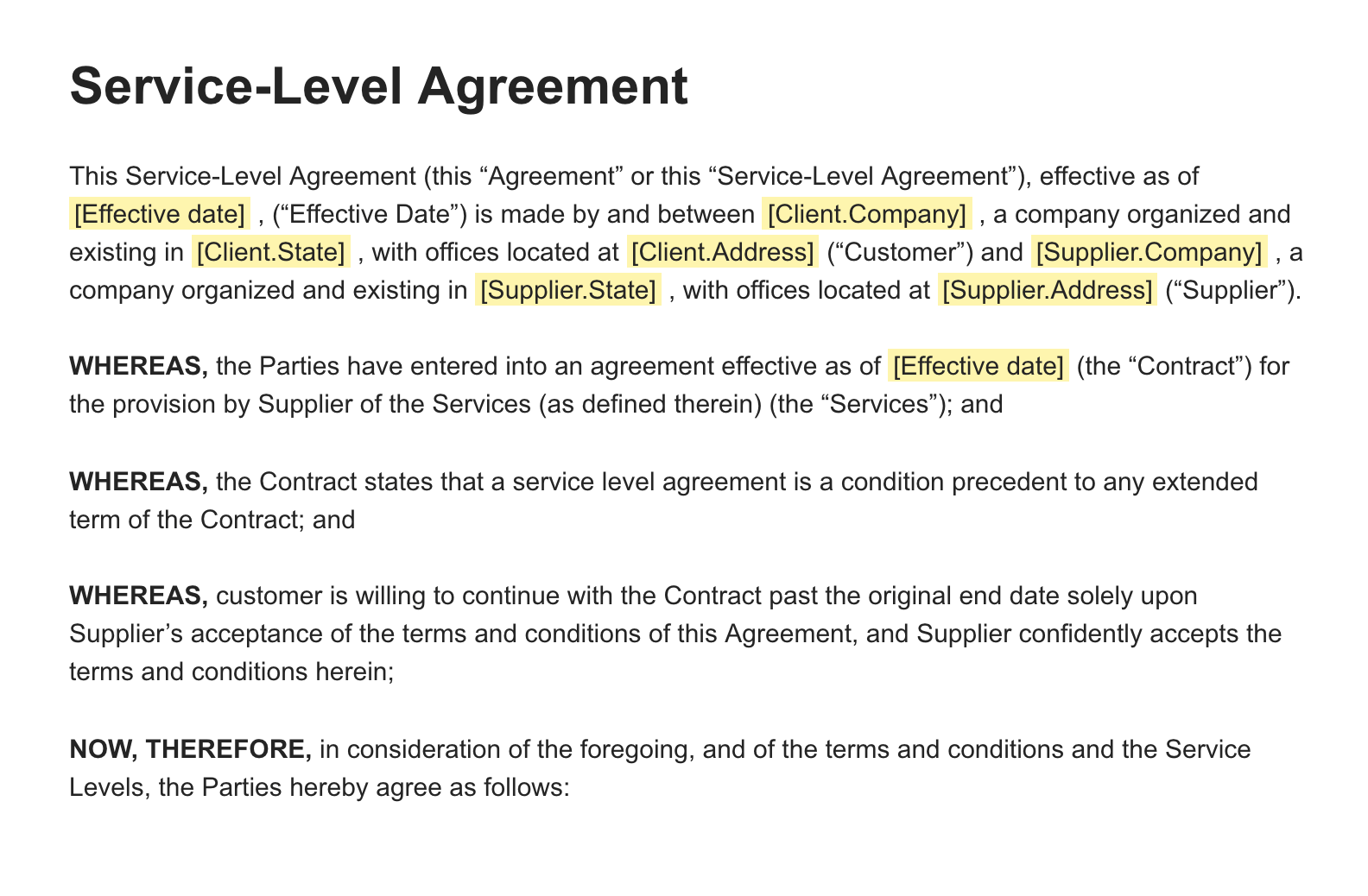 An sla should record a common understanding about services, priorities, responsibilities, guarantees, and possibly the right to. The Ultimate Guide To Service Level Agreements Slas