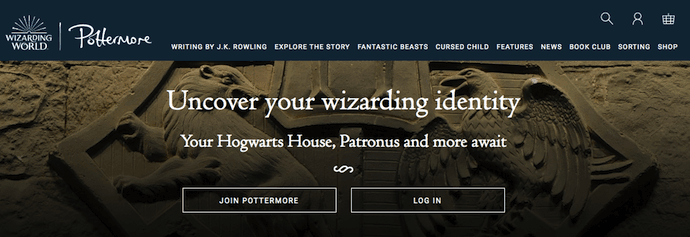 pottermore-website