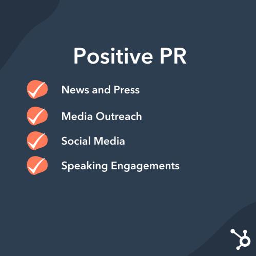 Public Relations: Positive PR Strategies