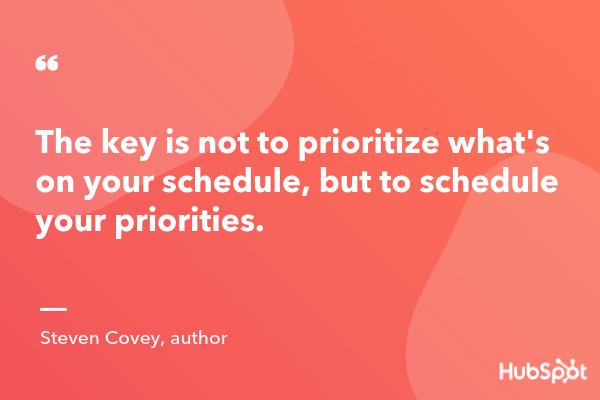 prioritization quotes