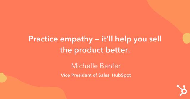 """Astuce sur la façon d'augmenter les ventes: «Faites preuve d'empathie - cela vous aidera à mieux vendre le produit."""""""