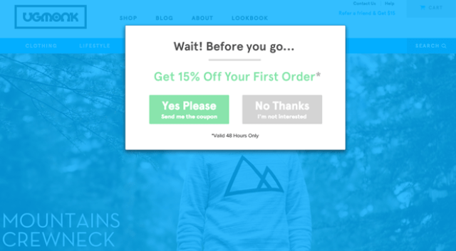 Ugmonk call to action buttons