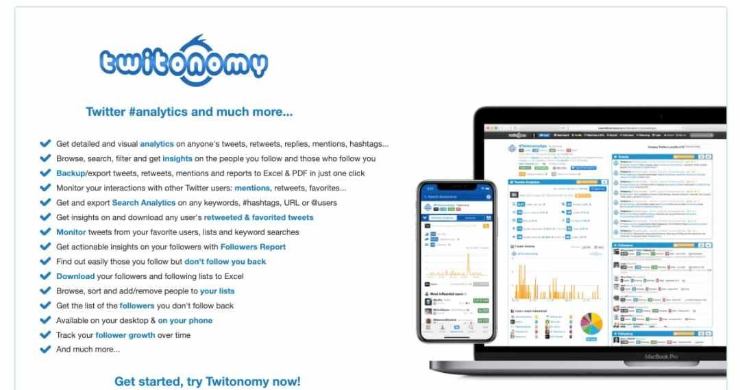 Software para mejorar y medir el engagement: Twitonomy
