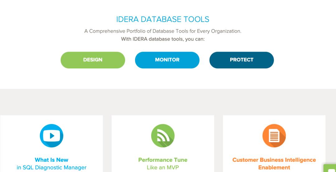 Software de auditoría de base de datos: IDERA