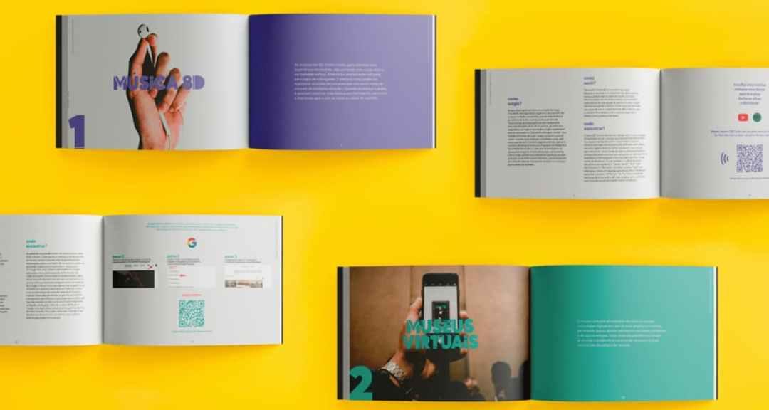 Ejemplo del uso de colores para identificar marca o secciones en un catálogo digital
