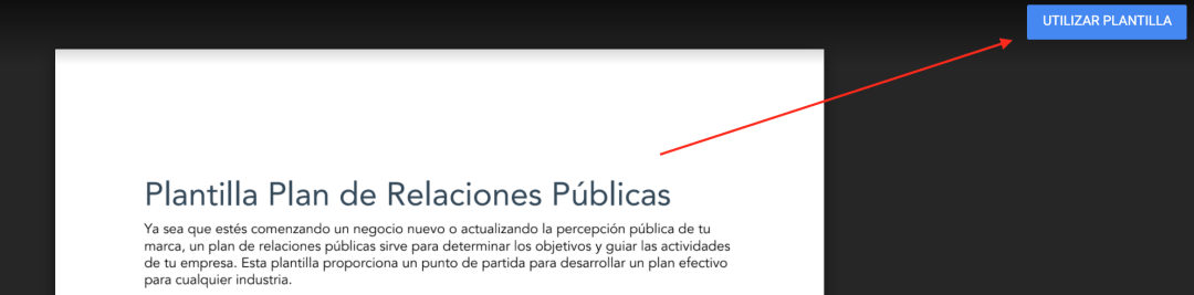 Cómo utilizar la plantilla de relaciones públicas de HubSpot en Google Docs
