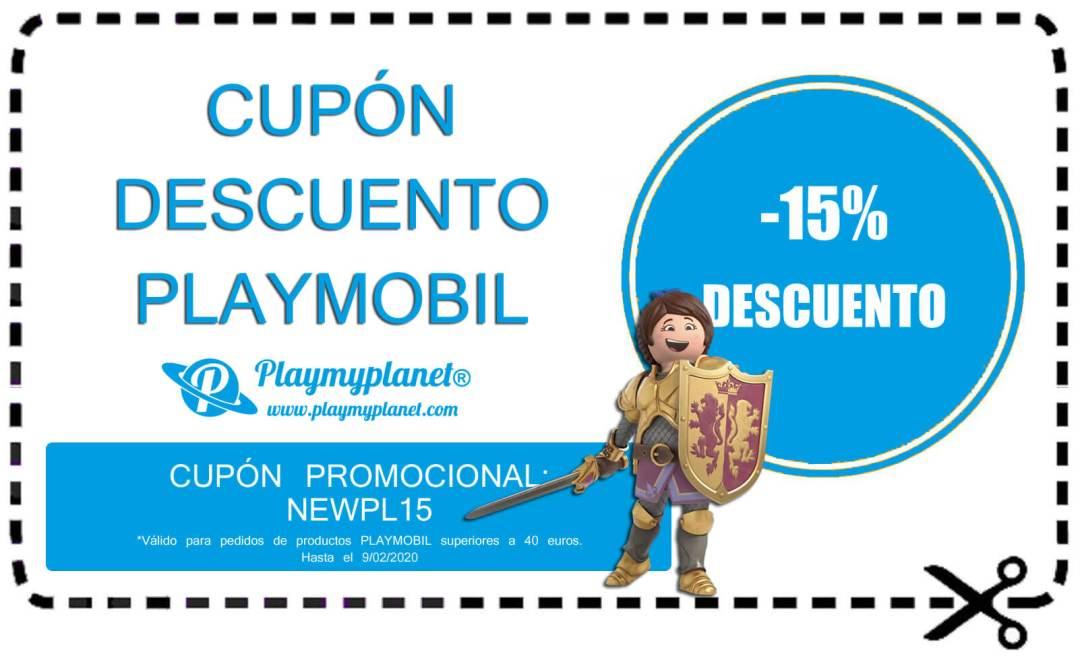 Ejemplo de cupón de la tienda en línea Playmyplanet