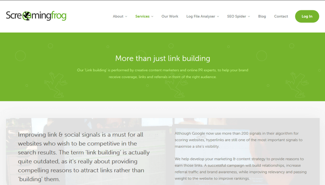Screaming frog, herramienta para potenciar link building