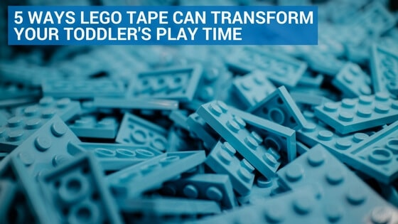 5 Ways Lego Tape Can Transform Your Toddler's Play Time