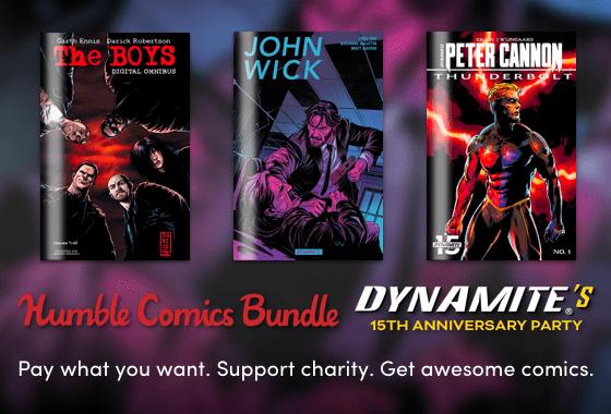 Humble Comics Bundle: Dynamite's 15th Anniversary Party