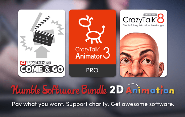 Humble Software Bundle: 2D Animation