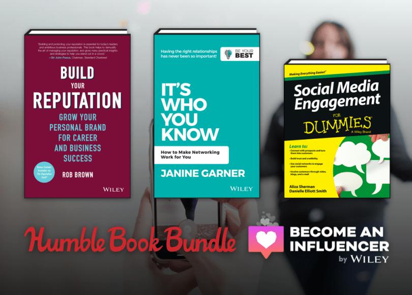 Become an Influencer book bundle