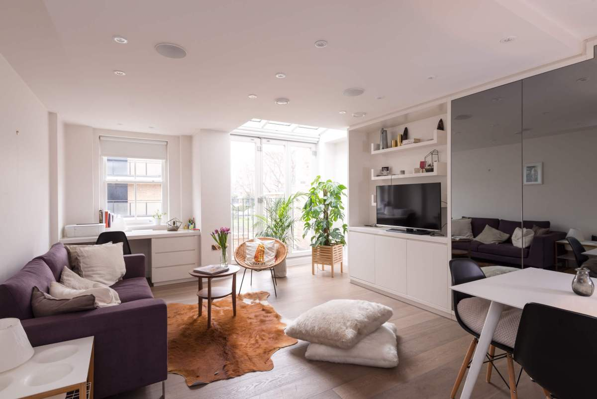 Two bedroom apartment in one of London's most vibrant streets, Whitecross Street EC1