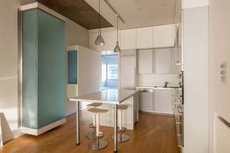One Bedroom Lateral Loft Apartment, Canal Building, Shepherdess Walk, N1