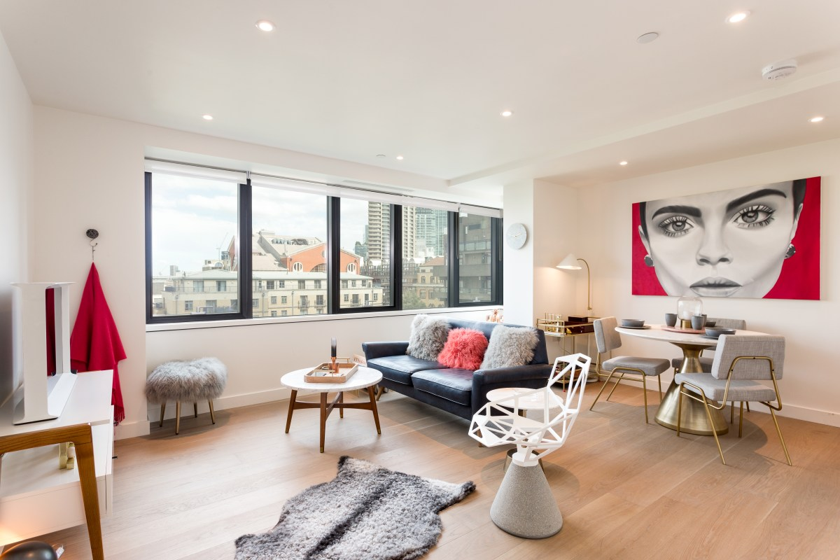 Design, design, design - Stunning one bedroom apartment, Blake Tower, EC2
