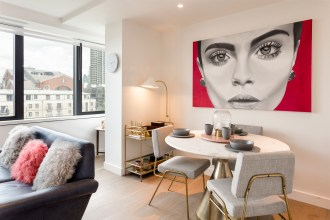 Design, design, design – Stunning one bedroom apartment, Blake Tower, EC2