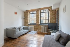 Converted  former Victorian Ice Factory, One Bedroom Loft Apartment, EC1