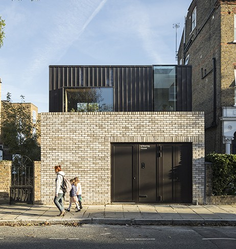Winner of Evening Standards New Homes 'Best London Home', Adolphus Road, N4