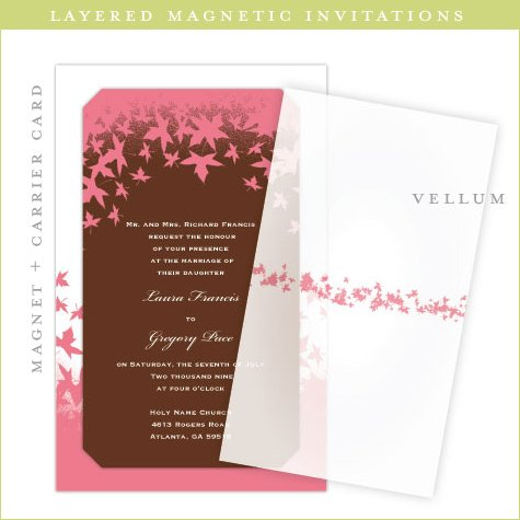 Rectangle Invitations Square Wedding Invitation