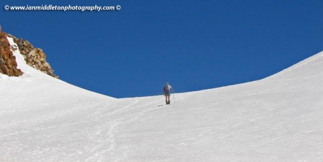 Climbing Mount Taranaki