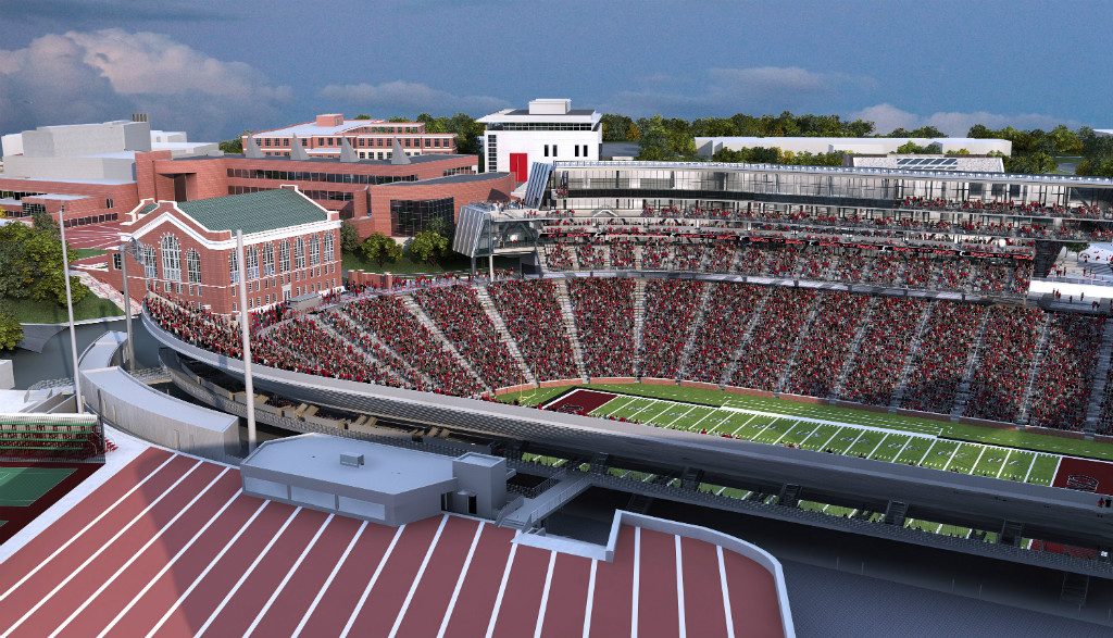 Uc Pictures Nippert Expansion Stadium