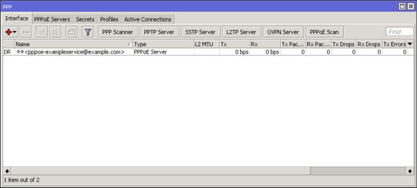 Mikrotik Radius, PPPOE Server and PPPOE Client Setup Guide