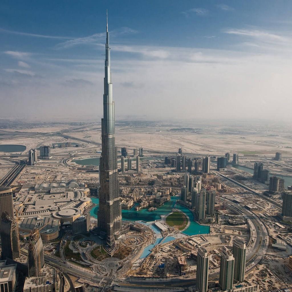O imponente Burj Khalifa