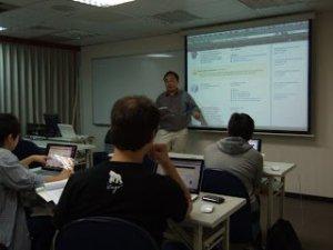 2010/8/21 iPhone進階課程實況報導,以及問卷統計