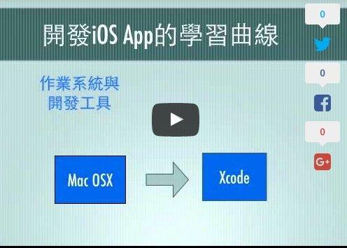 開發iOS App, 你所需要了解的