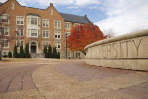 university college sign