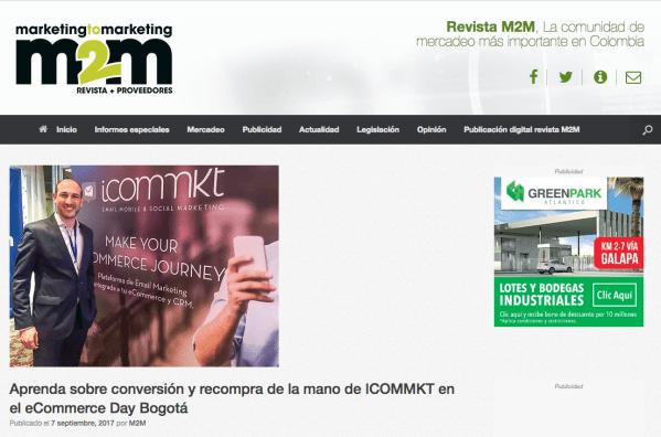 M2M revista ICOMMKT