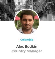 Alex Budkin ICOMMKT Colombia