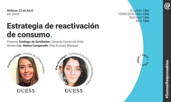 ICOMM Webinar GUESS Chile 2020