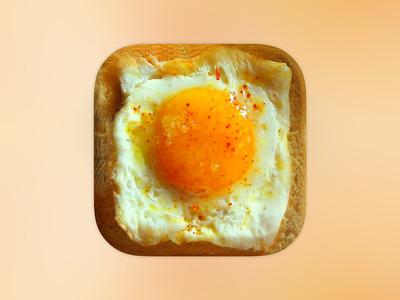 https://dribbble.com/shots/2340197-App-Icon-Egg-Bread