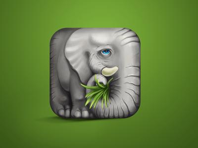 https://dribbble.com/shots/832341-Elephant