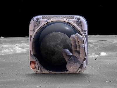 https://dribbble.com/shots/1275912-Astronaut-app-icon