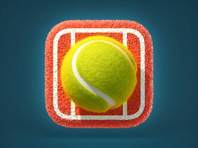 https://dribbble.com/shots/1558373-Tennis-Ball-Icon