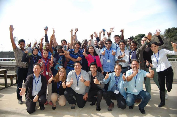 Our enthusiastic group of citizen science leaders/participants from 25 countries